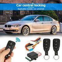 Car Remote Central Door Lock Locking Alarm Keyless Entry System Auto Remote Kit