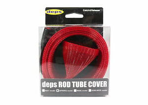 Deps Rod Tube Cover Spinning 1600 X 55 mm Model Red (4432)