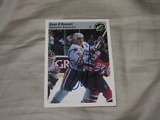 SEAN O'DONNELL AUTOGRAPHED 1993 CLASSIC PROSPECTS HOCKEY CARD
