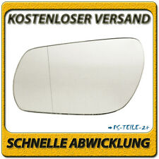 Außenspiegel Spiegelglas für MAZDA 3 2003-2009 links Fahrerseite asphärisch