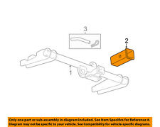 GM OEM Trailer Hitch-Rear Bumper-Draw Bar Adapter 15923277