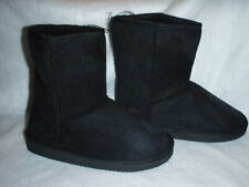 Women Winter Warm Faux Fur Lined Boots Slip On Shoes Size 5