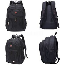 Outdoor Men Nylon Waterproof Backpack Satchel Travel Laptop School Bags