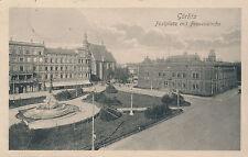 AK, Görlitz, Postplatz mit Frauenkirche, 1916 (G)1649