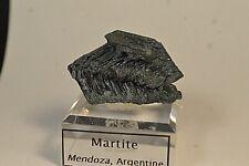Cristal de Martite provenant de Mendoza Argentine 40x26mm collection spécimen