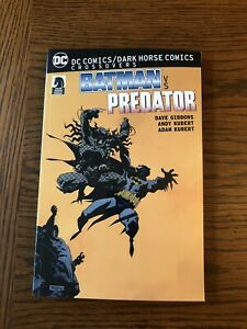 DC Comics / Dark Horse Crossovers : Batman vs. Predator TPB 2017 1st Printing