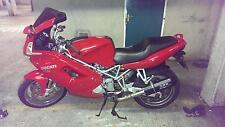 Ducati St2 St3 TUBO DE ESCAPE Furore CARBONO aspecto de GPR .Hecho en Italia