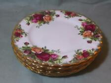 """6 Royal Albert Old Country Roses Side Plates 6¼"""""""