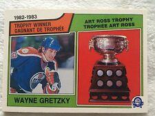 1983-84 O-Pee-Chee Wayne Gretzky Art Ross Edmonton Oilers #204 NM+