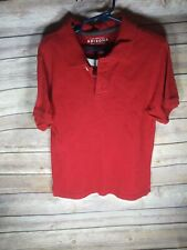 Boys large red polo by Arizona