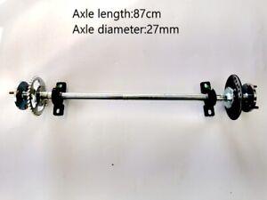 Huffy Slider Drift Trike Go Kart Quad 870mm length 25mm Complete Axle Kit 9hp