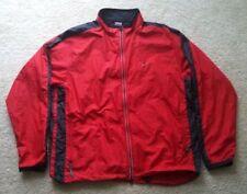 Men's XL Red Nike Full Zip Windbreaker Jacket Windbreaker