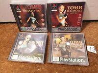 Tomb Raider Bundle 1 2 3 Last Revelation Complete Playstation 1 PS1 - N13
