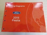 2018 Ford Fiesta Wiring Diagram Manual Ebay