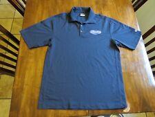 Odwalla NIKE GOLF Polo DRI-FIT Size Medium Jersey Navy Blue Short Sleeve Shirt