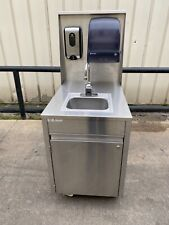 Qualserv touchless Portable hand sink hot water daycare farmers market s/s