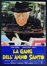 FOTOBUSTA 5, LA GANG DELL'ANNO SANTO L'année sainte GABIN, DARRIEUX, AFFICHE