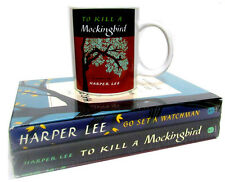 To Kill A Mockingbird Book & Go Set A Watchman Box Set & Book Lovers Mug