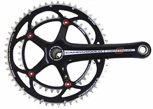 Campagnolo Centaur Black/Red Power-Torque 10Speed Double Compact 34/50 - 172.5mm