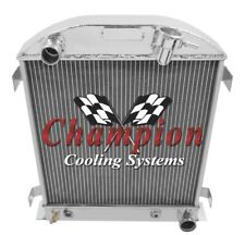 2 Row Ace Champion Radiator for 1932 Ford Chopped Chevy/Mopar Configuration