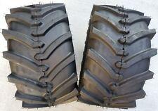 2 - 24x12.00-12 4P OTR Lawn Trac Tires Lug R-1 R1 PAIR AG 24x12-12