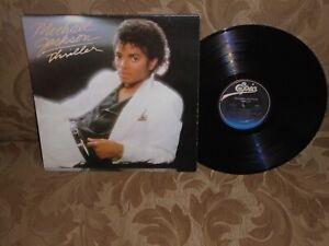 Michael Jackson Thriller Epic Records VG++/EX original pressing