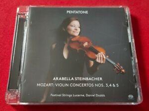 Arabella Steinbacher - Mozart: Violin Concertos 3, 4 and 5 SACD 2014