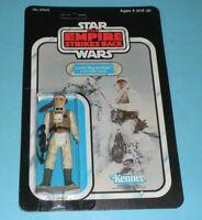 *RECARDED* 1980 Star Wars ESB Hoth Luke Complete Figure Sealed *CUSTOM Card Back