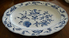 Blue Danube (Japan) Platter Measures 13-3/4 Inches Long by 10 Inches Wide