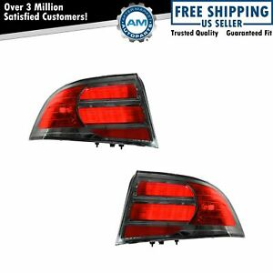Tail Lights Taillamps Pair Set For 2007-2008 Acura TL Type S