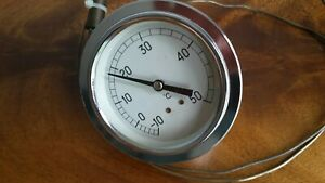 Analogue Temperature Gauge -10 to +50 degree's C