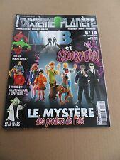 Dixième Planète 18 . Scooby -Doo ! - Aout / Sept  2002 - TBE - minus