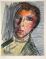 CORSIA Gilbert - Estampe originale - Lithographie - Hommage à la femme 4