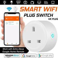 Wireless WiFi Smart UK Plug Power Switch Socket Google Home IFTTT Amazon Alexa