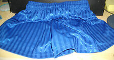 New 14 x Blue Football Shorts School PE shorts Size 30/32