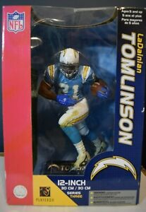 LaDainian Tomlinson 12 Inch Action Figure San Diego Chargers by Players Inc