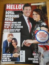HELLO! Magazine #1518 05/02/018 ROYAL WEDDING SPECIAL! Princess Eugenie Megan