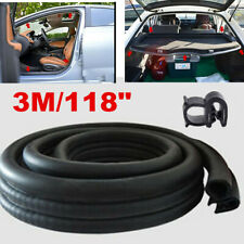 3M Seal Strip Car Door Hood Trunk Trim Edge Moulding Rubber Weatherstrip Black