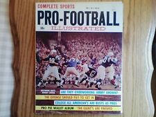 1961 fleer football wallet pics set near mint pristine condition uncut unitas
