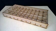 1 large storage tray Warhammer 40k bits cases wargames figures infinity legion