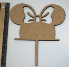 Wooden Cake Toppers Sale Cake Supplies Minnie Mouse And Wedding Topper