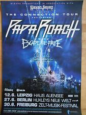 PAPA ROACH 2013 TOUR BLAU  -  orig.Concert-Konzert-Poster-Plakat NEU