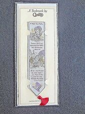 Cash's Woven BOOKMARK Alice in Wonderland Lewis Carroll Mad Hatter's Tea Party