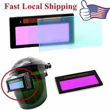 """New 4-1/4"""" x 2"""" solar Auto Darkening Welding Lens hood Filter Shade 3-11 US SHIP"""