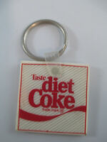 Coca-Cola Vintage Taste of Diet Coke Rubber Keychain