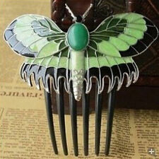 Vogue TITANIC Rose's Beautiful Butterfly Comb Hairpin Hair clip ;Free shipping
