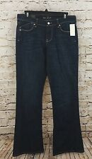 Old Navy jeans Womens  6 Flirt Mid Rise Flare Stretch NEW medium wash N1