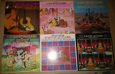 Exotic Guitars - 6 LPs - Those Were Days, Holly Holy, Country, 300 Watt Box, S/T