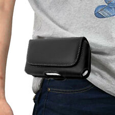 For iPhone 5 5S 5C SE GENUINE LEATHER CASE COVER HORIZONTAL HOLSTER BELT CLIP