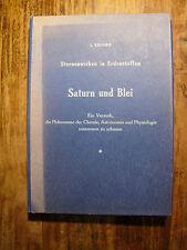 Buch Mappe von Kolisko - Saturn und Blei - Sternenwirken in Erdenstoffen